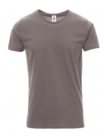 sound+ ocelova siva tričko pánske
