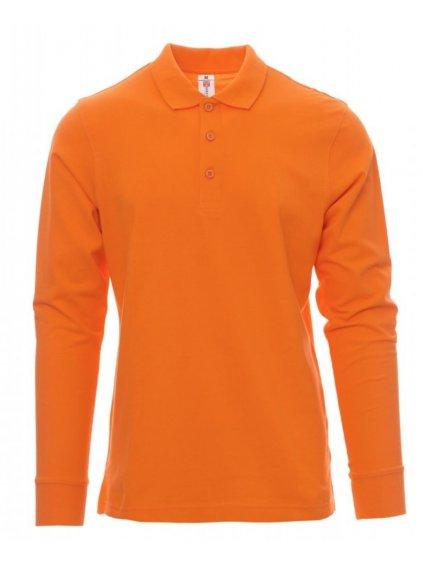Verona pracovná polokošeľa oranžová